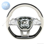 Mercedes-benz S550 S63 S65 Amg Piano Lacquer And Porcelain Leather Steering Wheel