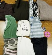 Lot Of 10 Womens Jackets, Sweaters S-m