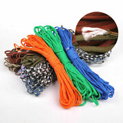 550 Wholesale Cord Lanyard Mil Spec 7 Strand Core Type Iii Parachute Paracord