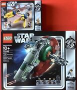 Lego Star Wars 20th Anniversary - Assorted Lot 3 Factory Sealed Sets