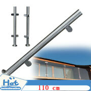 110 Cm High Glass Balustrade Railing Post Glazing Glass Fence Clamp Stainless