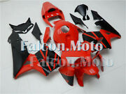 Fairing Red Black Injection Kit Fit For 2005-2006 Cbr 600 Rr 05 F5 Abs New Ahm