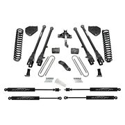 For Ford F-450 Super Duty 19 Fabtech 6 4 Link Front And Rear Suspension Lift Kit