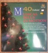40 Indoor Musical Bells In Motion Tested Works Lights Play 25 Christmas Songs
