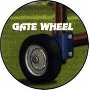 Rolling Gate Wheel Easy Latch Fencing Panels Pasture