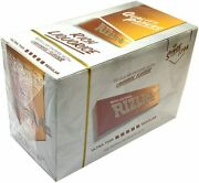 Full Box Of 100 Booklets Rizla Liquorice Rolling Cigarette Papers Us Free Pandp