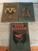 Vintage 1930 Boy Scout Service Library Book Lot Cal Ruggles Bird Spin A Rope