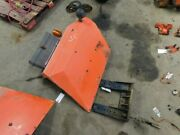 Allis Chalmers 6140 Tractor Right Fender W/ Bracket And W/ Tool Box Tag 848