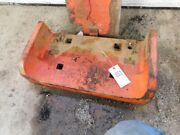 Allis Chalmers 190 Tractor Front Starter Weight Tag 801