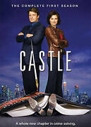 Castle The Complete First Season Dvd 2009 3-disc Set