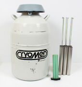 Thermo Forma Cryomed 8036 Cmc 20.5l Ln2 Nitrogen Dewar W/ 6 Canisters