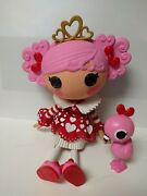 Lalaloopsy 12andrdquo Doll Queenie Red Heart With Flamingo Retired