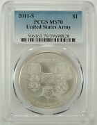 2011-s 1 Medal Of Honor Silver Dollar Pcgs Ms70 39698828 Pcgs Label Error