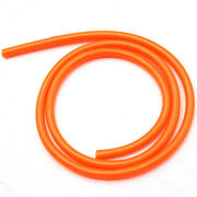 Orange Rubber Motocycle Fuel Pipes Hoses For Kawasaki Yamana Bmw Scooter