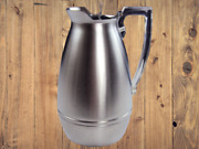 Vintage American Thermos Bottle Co. Stainless Steel Carafe Model No. 2585
