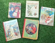 5 Antique Childrens' Books Dating From 1912 To 1914
