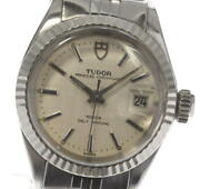 Tudor Princess Oyster Date 92414 Cal.2671 Silver Dial Automatic Ladies_593855