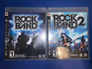 Ps3 Rockband 1and2 Complete With Case/manual Great Condition Used