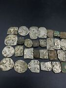 Lot Of Ancient Antique Silver Punch-marked Old Coins Stamp 2nd-6th Century Bc