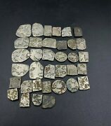 Coins Lot Ancient Antique Silver Punch-marked Old Coins Stamp 2nd-6th Century Bc