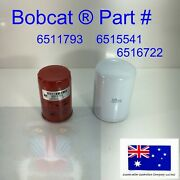 Engine And Hydraulic Oil Filter Kit For Bobcat 6511793 6515541 631 641 721 731 741