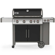 Genesis Ii E-435 4-burner Propane Gas Grill In Black With Built-in Thermometer A