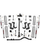 Rough Country Suspension Lift Kit 3-1/2 In Lift Brackets / Bump Stops /… 65431