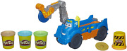 Play-doh Buzzsaw Logging Truck Toy With 4 Non-toxic Colors, 3-ounce Cans