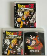 Dragon Ball Z Burst Limit Limited Edition With Slipcase And Dead Zone Movie Ps3