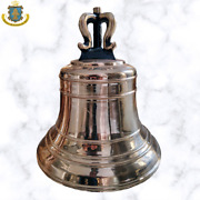 Bronze Cast Mission Bell 46 Lb 14 Inches Tall High Polish For Outdoors