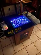 1980 Vintage Pacman Cocktail Table Arcade Game