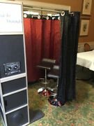 Custom Photobooth Rare Item 1 Of A Kind Sound System And Touchscreens