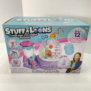 Stuffaloons Deluxe Maker Kit - Makes 12 Stuffed Balloons W/ Assorted Decorations