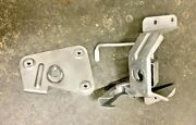 1958 Cadillac Hood Latch Assembly With Striker Plate