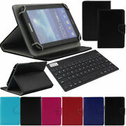 For Samsung Galaxy Tab A7 S2 A E A6 Tablet Keyboard Leather Case Buckle Cover
