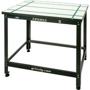 Grizzly T25953 T-slot Work Table With Stand