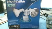 New Heath Zenith Motion Security Light 53186 Free Shipping