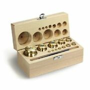 Kern 343-07 M1 1 Mg - 2 Kg Set Of Weights In Wooden