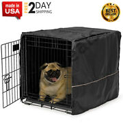 24andrdquo Privacy Dog Crate Kennel Cover Pet Wire Cage Folding Cover Machine Wash New