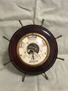 Vintage Desk Weatherite Barometer And Thermometer Made In Germany.