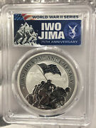 2020 Iwo Jima 75th Anniversary 1oz Silver Coin Pcgs Ms70 First Day Of Issue