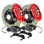 For Mini Cooper 02-08 Brembo Gt Series Slotted 2-piece Rotor Front Big Brake Kit