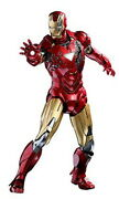 Hot Toys Mms378d17 Iron Man Mark Vi Special Edition