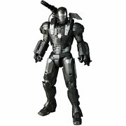 Hot Toys Mms 120 Iron Man 2 War Machine With Don Cheadle Head 1/6 Scale No Stand