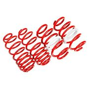 For Mercedes-benz 190e 84-93 1.6 X 1.6 Front And Rear Lowering Coil Springs
