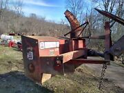 Econo Plow 6+6 Three Point Mounted Snow Blower For Compact Tractors 540 Pto