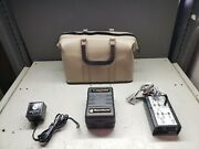 Electrodata Tw-1 T1-watcher Line Tester W/ Test Access Unit And Power Adapter