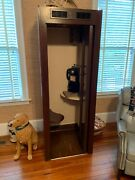 Phone Booth By Western Electric. Excelent Condition. Phone Light Fan Works
