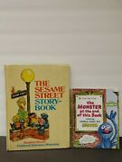 The Monster At The End Of This Book Sesame Street Story Book Lot