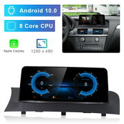 8-core Android Car Gps Stereo Player Wireless Carplay For Bmw X3 F25 X4 F26 Nbt